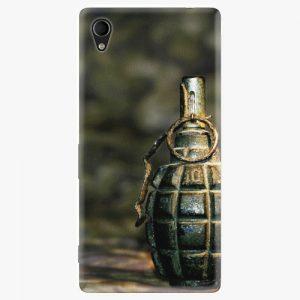 Plastový kryt iSaprio - Grenade - Sony Xperia M4