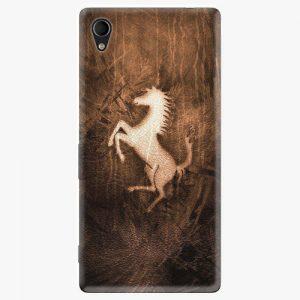Plastový kryt iSaprio - Vintage Horse - Sony Xperia M4