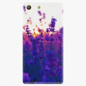 Plastový kryt iSaprio - Lavender Field - Sony Xperia M5
