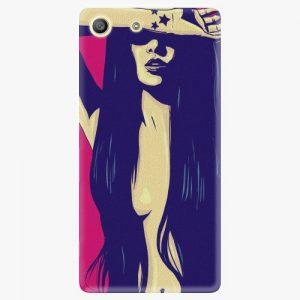 Plastový kryt iSaprio - Cartoon Girl - Sony Xperia M5