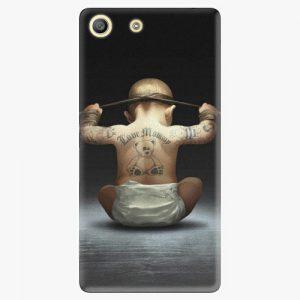 Plastový kryt iSaprio - Crazy Baby - Sony Xperia M5