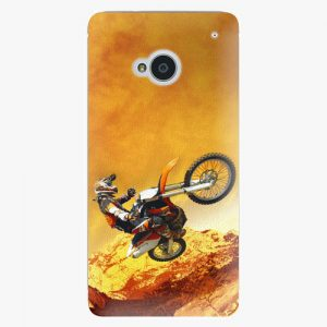 Plastový kryt iSaprio - Motocross - HTC One M7