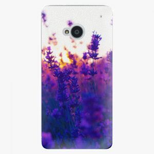 Plastový kryt iSaprio - Lavender Field - HTC One M7