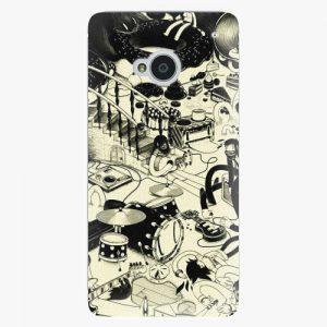 Plastový kryt iSaprio - Underground - HTC One M7