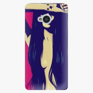 Plastový kryt iSaprio - Cartoon Girl - HTC One M7