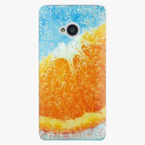 Plastový kryt iSaprio - Orange Water - HTC One M7