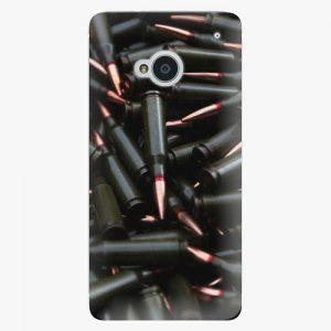Plastový kryt iSaprio - Black Bullet - HTC One M7