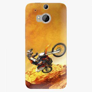 Plastový kryt iSaprio - Motocross - HTC One M8