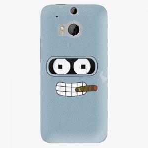 Plastový kryt iSaprio - Bender - HTC One M8