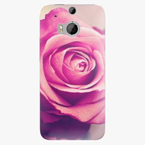 Plastový kryt iSaprio - Pink Rose - HTC One M8