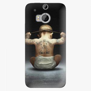 Plastový kryt iSaprio - Crazy Baby - HTC One M8