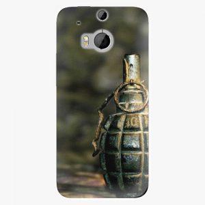 Plastový kryt iSaprio - Grenade - HTC One M8