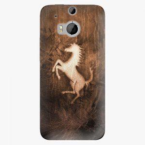 Plastový kryt iSaprio - Vintage Horse - HTC One M8