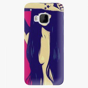 Plastový kryt iSaprio - Cartoon Girl - HTC One M9