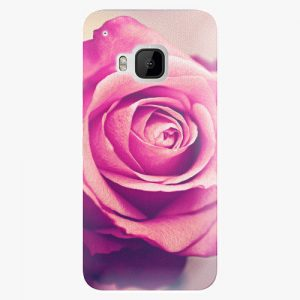 Plastový kryt iSaprio - Pink Rose - HTC One M9