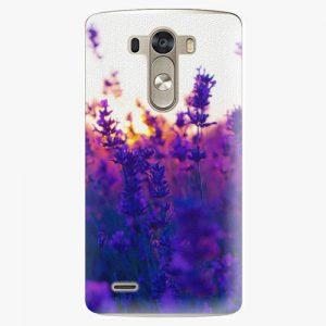 Plastový kryt iSaprio - Lavender Field - LG G3 (D855)