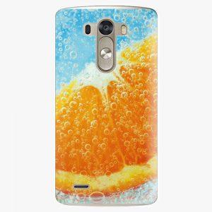Plastový kryt iSaprio - Orange Water - LG G3 (D855)