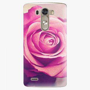Plastový kryt iSaprio - Pink Rose - LG G3 (D855)