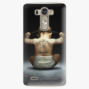 Plastový kryt iSaprio - Crazy Baby - LG G3 (D855)