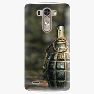 Plastový kryt iSaprio - Grenade - LG G3 (D855)