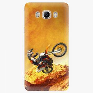 Plastový kryt iSaprio - Motocross - Samsung Galaxy J7 2016