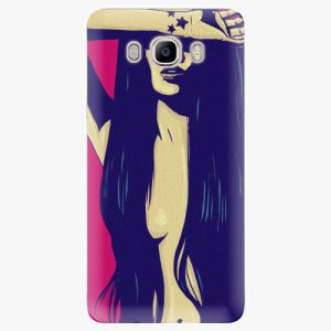 Plastový kryt iSaprio - Cartoon Girl - Samsung Galaxy J7 2016