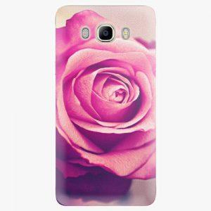 Plastový kryt iSaprio - Pink Rose - Samsung Galaxy J7 2016