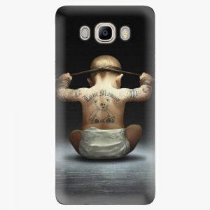 Plastový kryt iSaprio - Crazy Baby - Samsung Galaxy J7 2016