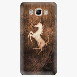 Plastový kryt iSaprio - Vintage Horse - Samsung Galaxy J7 2016