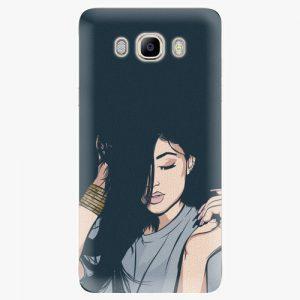 Plastový kryt iSaprio - Swag Girl - Samsung Galaxy J7 2016