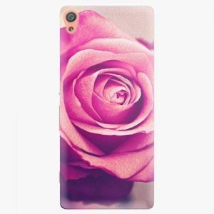 Plastový kryt iSaprio - Pink Rose - Sony Xperia XA