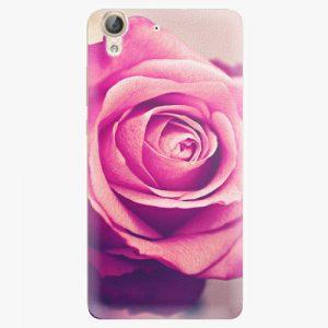 Plastový kryt iSaprio - Pink Rose - Huawei Y6 II