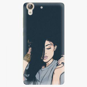 Plastový kryt iSaprio - Swag Girl - Huawei Y6 II