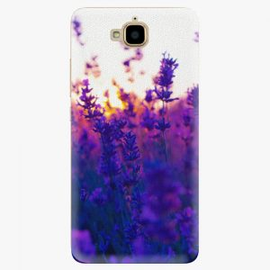 Plastový kryt iSaprio - Lavender Field - Huawei Y6 Pro