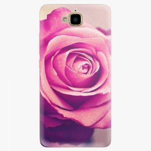 Plastový kryt iSaprio - Pink Rose - Huawei Y6 Pro