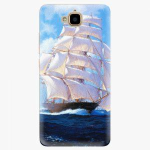 Plastový kryt iSaprio - Sailing Boat - Huawei Y6 Pro