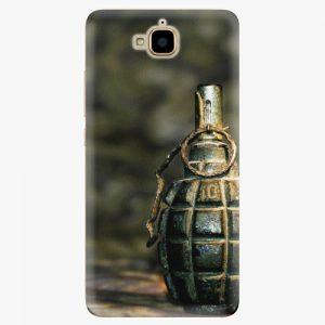 Plastový kryt iSaprio - Grenade - Huawei Y6 Pro