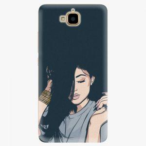 Plastový kryt iSaprio - Swag Girl - Huawei Y6 Pro