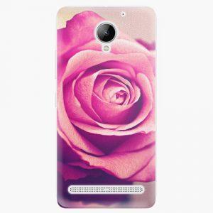 Plastový kryt iSaprio - Pink Rose - Lenovo C2