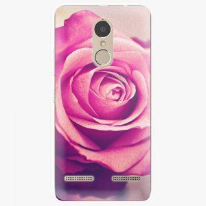 Plastový kryt iSaprio - Pink Rose - Lenovo K6