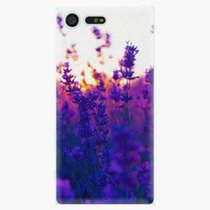 Plastový kryt iSaprio - Lavender Field - Sony Xperia X Compact