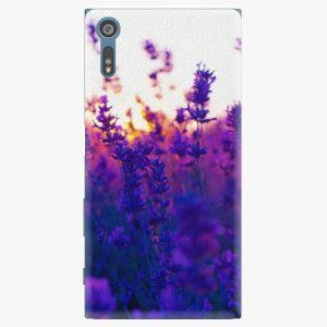 Plastový kryt iSaprio - Lavender Field - Sony Xperia XZ
