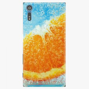 Plastový kryt iSaprio - Orange Water - Sony Xperia XZ