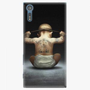 Plastový kryt iSaprio - Crazy Baby - Sony Xperia XZ