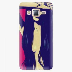 Plastový kryt iSaprio - Cartoon Girl - Samsung Galaxy J3