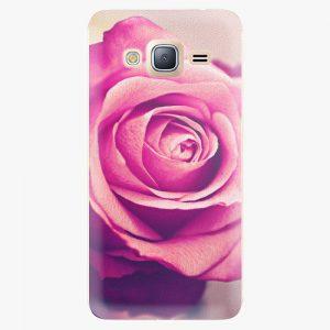 Plastový kryt iSaprio - Pink Rose - Samsung Galaxy J3