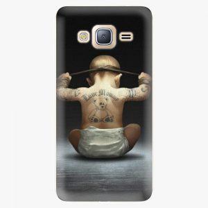 Plastový kryt iSaprio - Crazy Baby - Samsung Galaxy J3