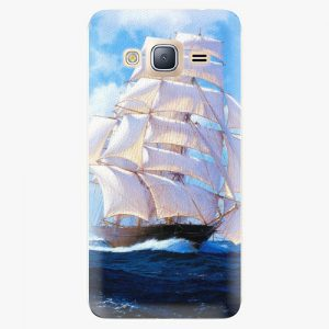Plastový kryt iSaprio - Sailing Boat - Samsung Galaxy J3