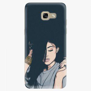 Plastový kryt iSaprio - Swag Girl - Samsung Galaxy A5 2017