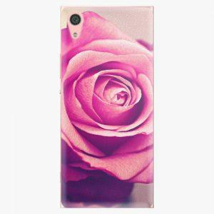 Plastový kryt iSaprio - Pink Rose - Sony Xperia XA1